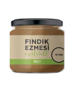 Nuts'all Ballı Fındık Ezmesi Ürün Fotoğrafı