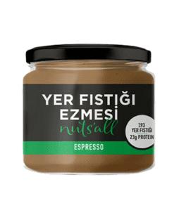 Nuts'all Espressolu Yer Fıstığı Ezmesi 280 Gram'ın Ürün Fotoğrafı
