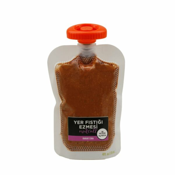 Nuts'all Kakao Chia Yer Fıstığı Ezmesi 130 Gram'ın Ürün Fotoğrafı