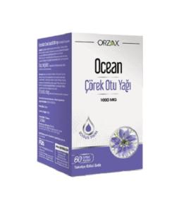 Orzax Ocean Çörek Otu Yağı 1000 Mg / 60 Kapsül'ün Ürün Fotoğrafı