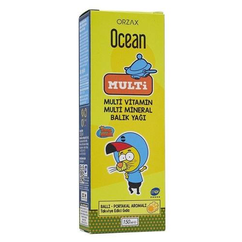 Ocean Omega 3 Multi 150 ml Ürün Fotoğrafı