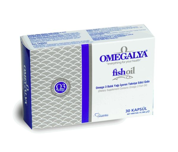 Omegalya Balık Yağı 30 Kapsül'ün Ürün Fotoğrafı