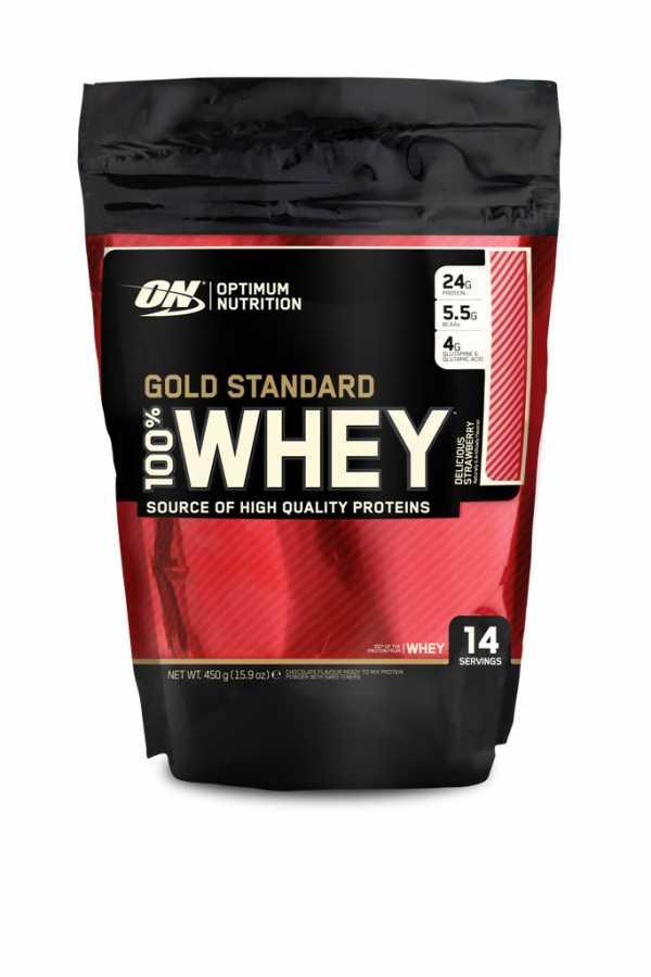 Optimum Gold Standard Whey Protein Tozu 450 gr Ürün Fotoğrafı