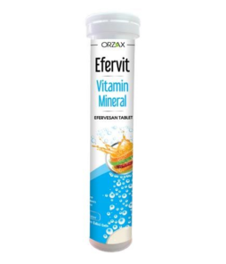 Orzax Efervit Vitamin Mineral 20 Tablet'in Ürün Fotoğrafı