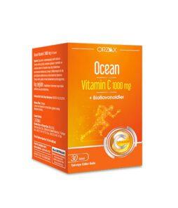 Ocean Vitamin C 1000 Mg 30 Tablet Ürün Fotoğrafı