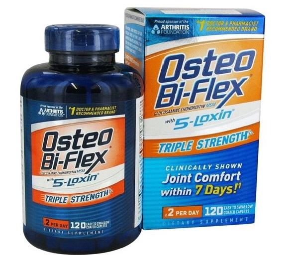 Rexall Osteo Bi-Flex 5-Loxin Triple Strength 120Tablet'in Ürün Fotoğrafı