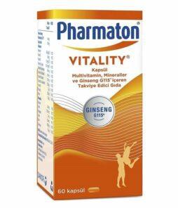 Pharmaton Vitality 60 Kapsül'ün Ürün Fotoğrafı