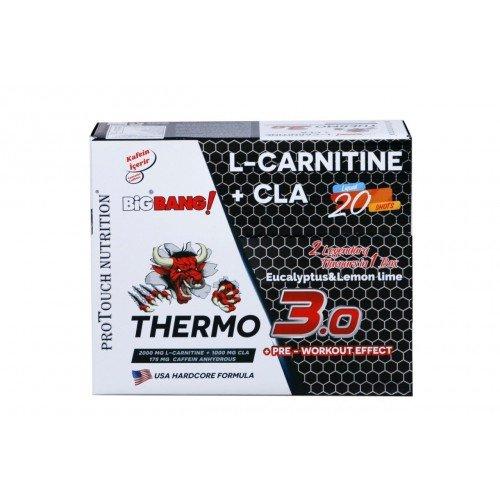 Protouch BigBang Thermo 3.0 L-Carnitine+CLA 20 Ampul'ün Ürün Fotoğrafı