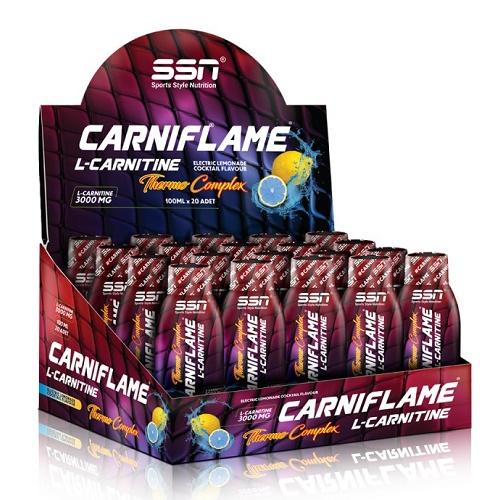 SSN Carniflame 3000 mg 20 Ampul Energy ürün fotoğrafı