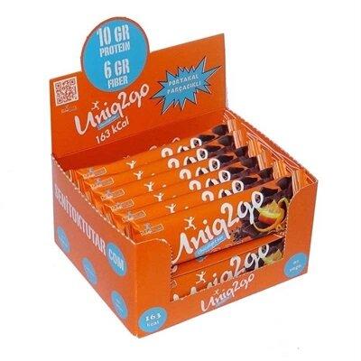 Uniq2go Chocolight Protein Bar 16 Adet'in Ürün Fotoğrafı