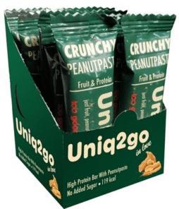 Uniq2go In Love Fıstık Ezmeli Protein Bar 12 Paket'in Ürün Fotoğrafo
