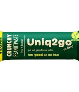Uniq2go In Love Vegan Protein Bar 32 Gram'ın Ürün Fotoğrafı