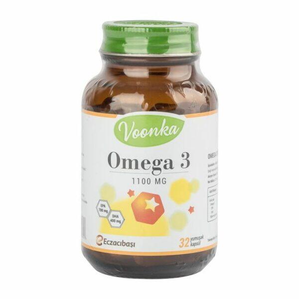 Voonka Omega 3 32 Kapsül / 1100 mg'ın Ürün Fotoğrafı