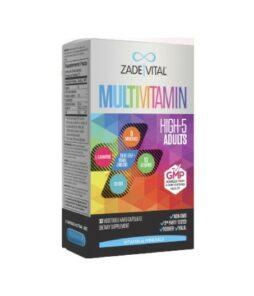 Zade Vital Multivitamin 30 Kapsül'ün Ürün Fotoğrafı