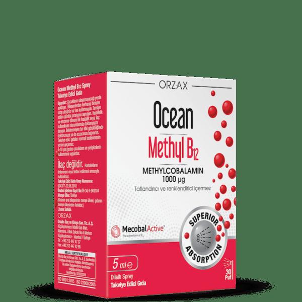 Orzax Ocean Methyl B12 5 ML / 1000 Mcg'nin Ürün Fotoğrafı
