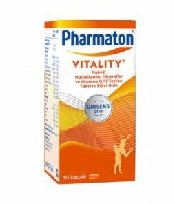 Pharmaton Vitality 30 Kapsül'ün Ürün Fotoğrafı