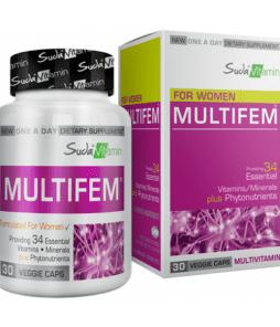 Suda Vitamin Multifem Multivitamin 30 Kapsül'ün Ürün Fotoğrafı