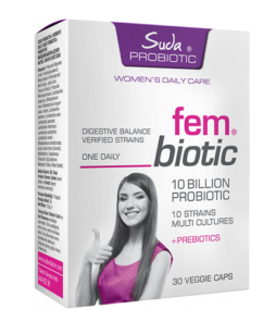 Suda Vitamin Probiotic Fembiotic 30 Kapsül'ün Ürün Fotoğrafı