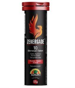 Sunlife Zenergade 10 Efervesan Tablet'in Ürün Fotoğrafı