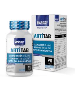 West Nutrition Artitab Glukozamin MSM 90 Tablet'in Ürün Fotoğrafı