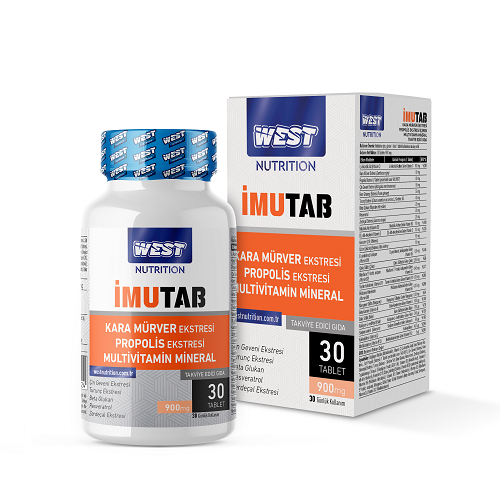 West Nutrition İmutab Multivitamin Mineral 30 Tablet'in Ürün Fotoğrafı
