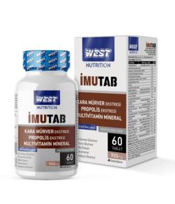 West Nutrition İmutab Multivitamin Mineral 60 Tablet'in Ürün Fotoğrafı