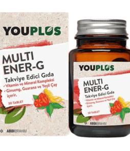 Youplus Multi Ener-G 30 Tablet'in Ürün Fotoğrafı