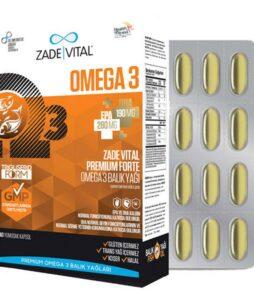 Zade Vital Omega 3 Forte 40 Kapsül'ün Ürün Fotoğrafı