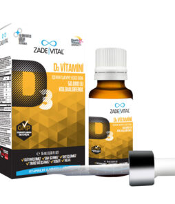 Zade Vital D3 Vitamini Oral Damla 15 ML'nin Ürün Fotoğrafı