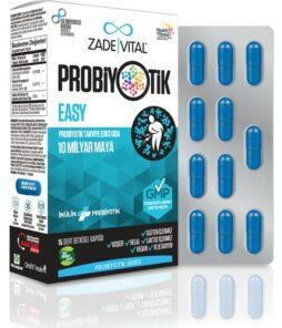 Zade Vital Probiyotik Easy 15 Kapsül'ün Ürün Fotoğrafı