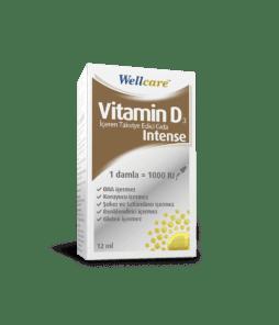 Wellcare Vitamin D3 İntense 1000 IU 12 ML'nin Ürün Fotoğrafı