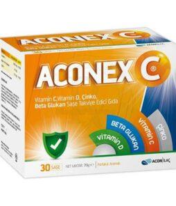 Acon İlaç Aconex C 30 saşe Ürün Fotoğrafı