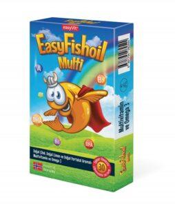 Easyvit Easyfishoil Multi 30 Tablet'in Ürün Fotoğrafı