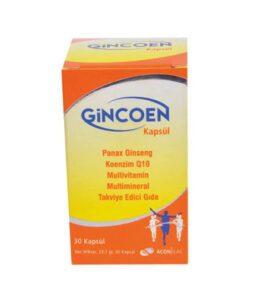 Acon İlaç Gincoen Kapsül'ün Ürün Fotoğrafı