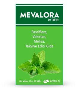 Mevalora 30 Tablet Takviyelik Ürün Fotoğrafı