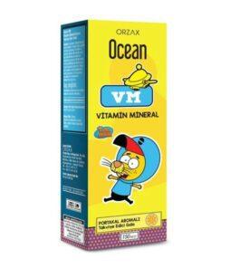 Orzax Ocean VM 150 ML Takviyelik Ürün Fotoğrafı Şurup