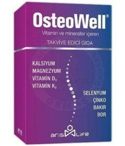 Ariş Osteowell 30 Tablet'in ürün fotoğrafı