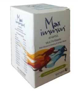 Max İmmun Multivitamin 40 Kapsül Ürün Fotoğrafı