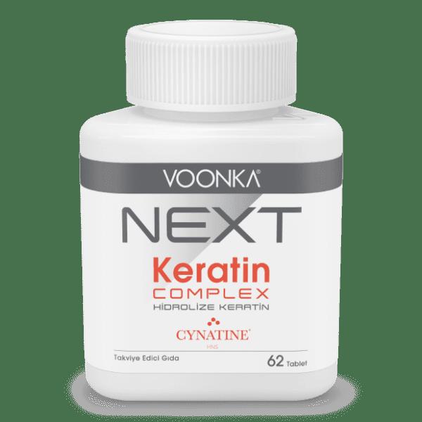 Voonka next keratin complex 62 tablet'in ürün fotoğrafı