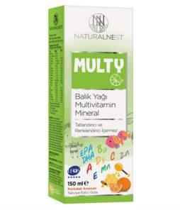 Naturalnest Multy Şurup 150 Ml'in ürün fotoğrafı