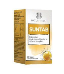Naturalnest Suntab 30 Tablet'in ürün fotoğrafı