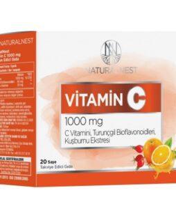 Naturalnest Vitamin C 1000 mg 20 Saşe'nin ürün fotoğrafı