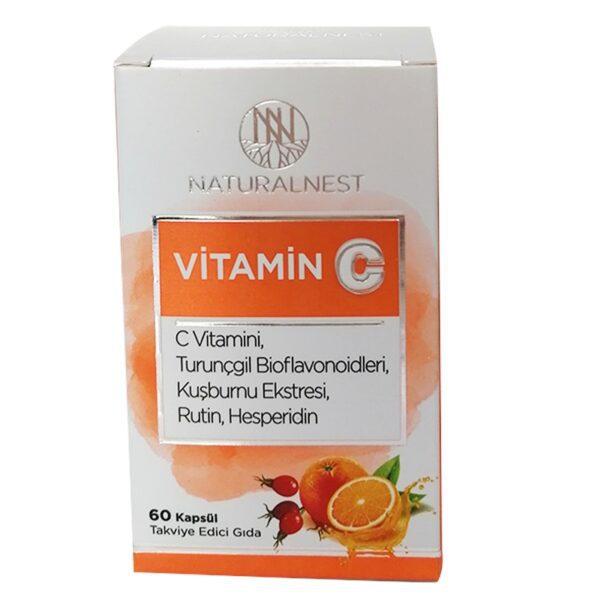 Naturalnest Vitamin C 60 Kapsül'ün ürün fotoğrafı
