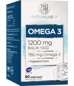 Naturalnest Omega 3 1200 Mg 30 Kapsül'ün ürün fotoğrafı