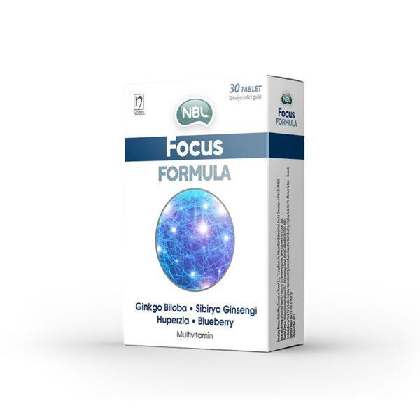 NBL Focus Formula 30 Tablet Takviyelik Ürün Fotoğrafı