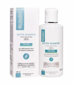 Dermoskin biotin şampuan erkek 200 ml ürün fotoğrafı