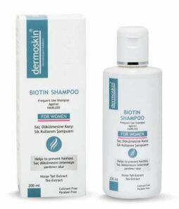 Dermoskin biotin şampuan kadın 200 ml ürün fotoğrafı