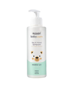 Dermoskin Babycare Saç & vücut şampuanı ürün fotoğrafı